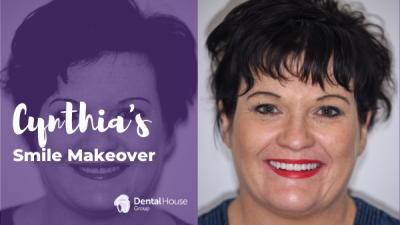 Cynthia's Dental Implants and Porcelain Veneers Journey in Sunbury
