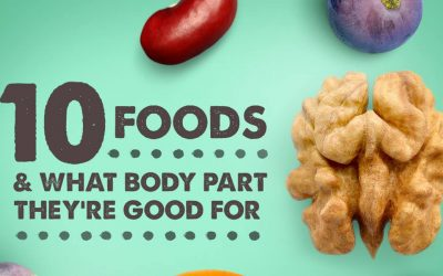 10 Foods And What Body Part They're Good For