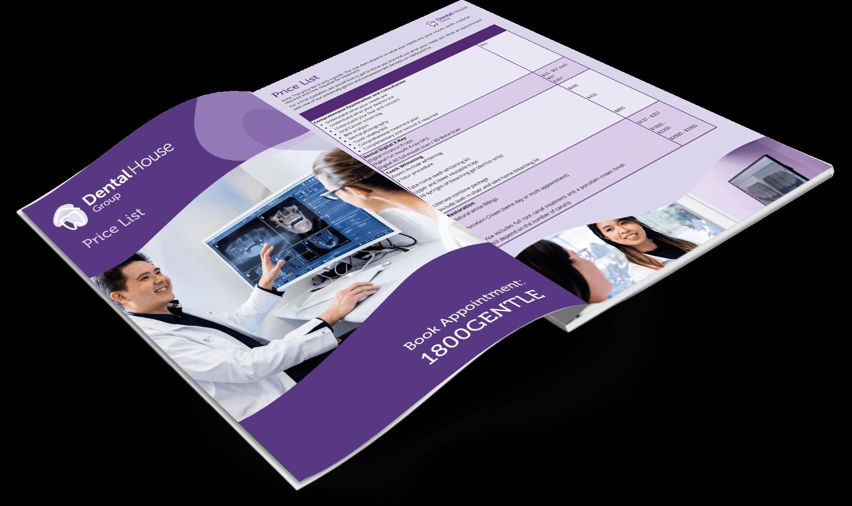Dental House Pricelist